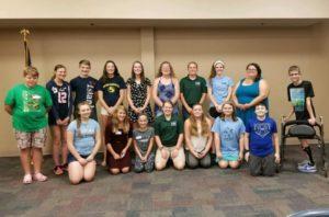 YAC Members 2017-18